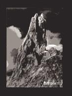 Courmayeur - X-  Dente Del Gigante. Anno 1951.  Viaggiata - Italia