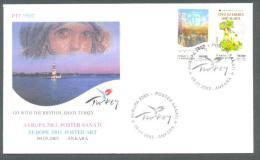2003 TURKEY EUROPA CEPT - POSTER ARTS FDC - 1921-... Repubblica