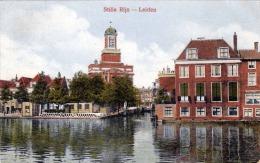 Niederlande STILLE RIJN - LEIDEN 1920 - Leiden