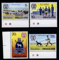 SWAZILAND - 1977 POLICE TRAINING SET (4V) SG 271-274 FINE MNH ** - Swaziland (1968-...)