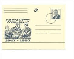 Entier De Belgique: Buck Danny  1947/97 (obl Spécimen) !!! - Bandes Dessinées
