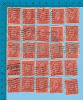 25 X 3 Cents #192 ( King George V, Economic Conference  Issue ) Stamp Canada 1932 - Oblitérés