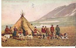 133  An Eskimo Family, Greenland - Greenland