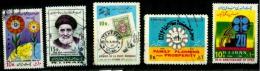 Iran Scott N°1949.2072.1670.2063.1682.1918.1893.oblitérés - Iran