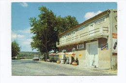 """CPSM 34 - POUSSAN - Hôtel Restaurant """" LA BARAQUE """" - TB PLAN Terrasse Animée CITROEN 2 CV + COCA COLA ORANGINA - Frankreich"""