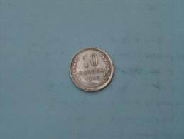 1930 - 10 Kopek / Y# 86 ( Uncleaned - Details Zie Foto´s ) ! - Russie