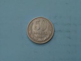 1961 - 50 Kopek / Y# 133a.1 ( Uncleaned - Details Zie Foto´s ) ! - Russia