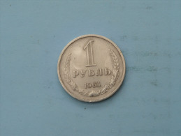 1964 - 1 Rouble / Y# 134a.2 ( Uncleaned - Details Zie Foto´s ) ! - Russie