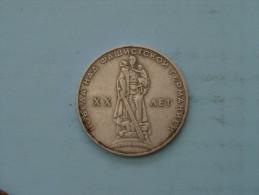 1965 - 1 Rouble / Y# 135.1 ( Uncleaned - Details Zie Foto´s ) ! - Russie