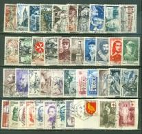 France  Année Complete 1956   Ob  TB  Voir Scan Et Description - France