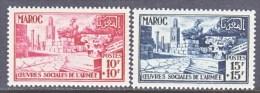 FRENCH MOROCCO  B 48-9   ** - Morocco (1891-1956)