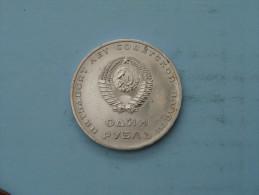 1967 / Rouble - Y# 140.1 ( Uncleaned - Details Zie Foto´s ) ! - Russie