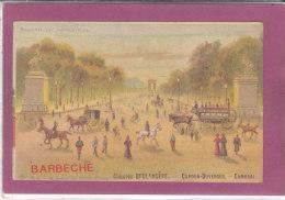 75.- CHICOREE BOULANGERE - CARDON-DUVERGER - CAMBRAI . Avenue Des Champs Elsées - Publicidad