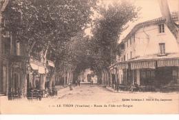 84- Le  Thor Route De Isle Sur  Sorgue - France