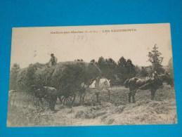 78) Gaillon-par-meulan - Les Gaudimonts ( Attelage - Fenaison -  Ramassage  Du Foins )   - Année 1926   - EDIT - Cosson - Frankreich
