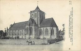 76-388   CPA   VATTEVILLE  L'église  Coté Est      Belle Carte - Sonstige Gemeinden