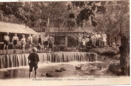 91. Brunoy. L'yerres Et La Passerelle D'épinay - France