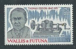 Wallis Et Futuna N° 275  XX   50ème Anniversaire De La Mort De Thomas Edison Sans  Charnière, TB - Unclassified