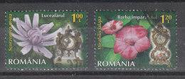 Romania   -   2013. Fiori Con Orologio.  Flowers With Watch - Orologeria