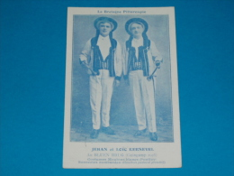 29) Guingamp - Au Bluen Brug - LOIC ET JEHAN KERNEVEL - Costumes De Moutons Blancs ( Pontivy) - Année 1925  - EDIT - Guingamp