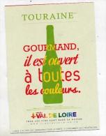 Carte Vin De Touraine - Commercio