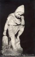 Roma - Cartolina Antica Bromografia PUTTO DORMIENTE, Museo Nazionale - OTTIMA H13 - Sculture