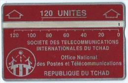 Telecarte Republique Du Tchad 120 Unitées - Chad