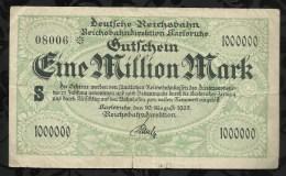 ALLEMAGNE .   BILLET DE 5 MILLION  MARK .1923  . - 5 Millionen Mark