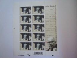 België Belgique 2004 Fantastische Literatuur Littérature Fantastique Johan Daisne Feuillet PLANCHE 4 3327 Yv 3314 MNH ** - Panes