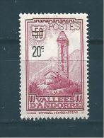 Andorre Timbres De 1935  N°46  Neuf * Légère Charnière, Belle Gomme - Ungebraucht