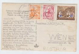 Yugoslavia/Austria POSTCARD 1957 - 1945-1992 Socialist Federal Republic Of Yugoslavia
