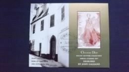 Gibraltar 807 Block 30, Oo/used, Haute Couture Der Kollektion 1997 Von Christian Dior, Zeichnungen Von John Galliano - Gibraltar