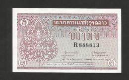 LAOS - BANQUE NATIONALE Du LAOS - 1 KIP (1962) - Laos