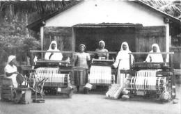 ¤¤   -   DAHOMEY   -  CALAVI    -  Le Tissage   -  ¤¤ - Dahomey