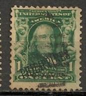 Timbres - Amérique - Possessions - Philippines - 1899-1901 - 1 Cent - - Philippines