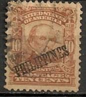 Timbres - Amérique - Possessions - Philippines - 1899-1901 - 10 Cents - - Philippines
