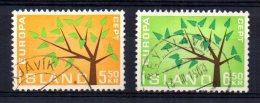 Iceland - 1962 - Europa - Used - 1944-... Republique