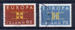 Iceland - 1963 - Europa - Used - 1944-... Republique