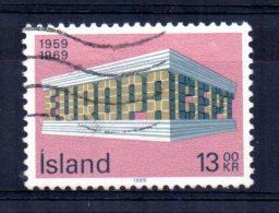 Iceland - 1969 - 13k Europa - Used - 1944-... Republique