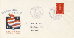 E22 - Met Adres / Open Klep (CW = € 25,-) - FDC
