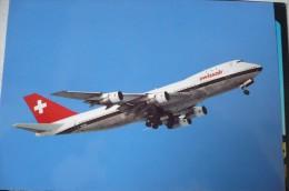 SWISSAIR  B 747 257  HB IGB - 1946-....: Moderne