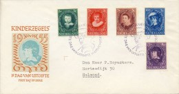 E24 - Met Adres / Open Klep (CW = € 60,-) - FDC