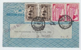 Peru/USA AIRMAIL COVER 1939 - Peru