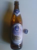 Alt615 Bottiglia, Buteille, Bottle Birra Biere Bier, Germany HB Hofbrau Munchen Monaco Baviera, Munchner Wheisse - Birra