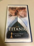 VHS - TITANIC - LEONARDO DI CAPRIO - KATE WINSLET - Action, Aventure