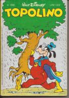 TOPOLINO N. 1566 - 1 DICEMBRE1985 - Disney