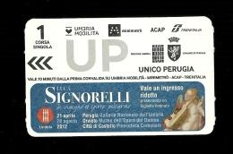 Biglietto Autobus Italia - Acap Unico Perugia da 70 min. - tipo 4