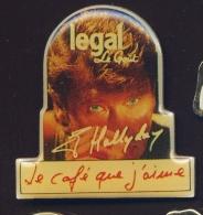 """""""  Café LEGAL """"  Johnny Hallyday    Vt Pg18 - Bevande"""