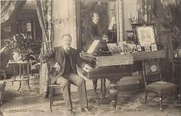 Ref C381- Fernand Riviere - Pianiste - Theme Piano- Pianos - Pianistes  -  Carte Bon Etat - - Musique Et Musiciens