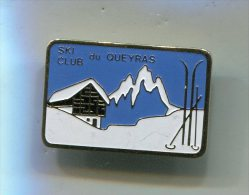 PINS QUEYRAS 04 HAUTES ALPES SKI CLUB DU QUEYRAS - Sports D'hiver